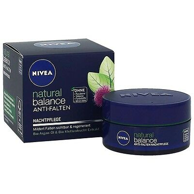 Nivea Natural Balance Anti-Falten Nachtpflege 50 ml