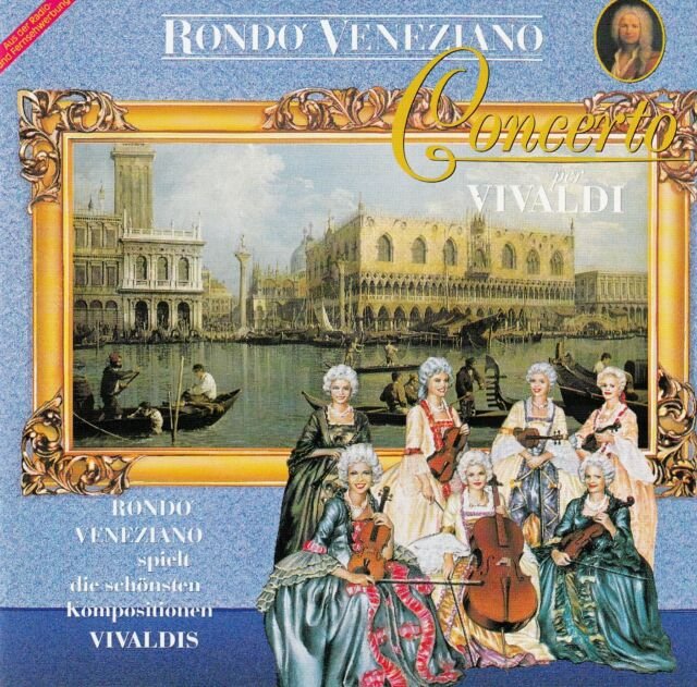 RONDO' VENEZIANO : CONCERTO PER VIVALDI / CD - TOP-ZUSTAND