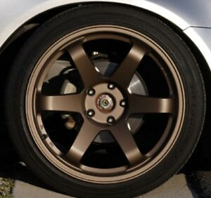 e22d3b2d75 BRONZE Alloy wheel paint kit Custom Spray 400ml MATT CLEAR   BASE ...