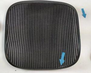Herman-Miller-Aeron-Chair-Seat-mesh-black-pellicle-w-blemish-Size-B-Medium-4