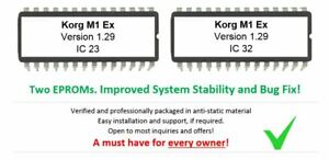 Korg-M1EX-Version-1-29-Firmware-OS-Update-Eprom-Upgrade-for-M1-EX