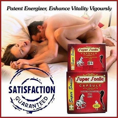 100% Ayurvedic Super Sonic Sex Power Booster Capsules For MEN FREE SHIPPING