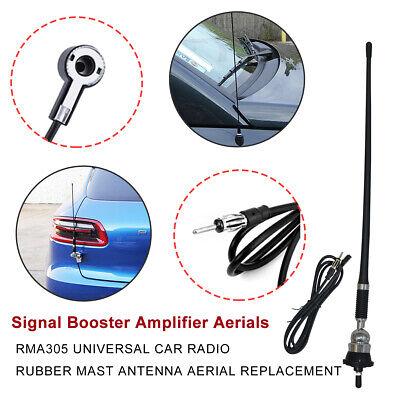 Autoradio Antenne Flexible radio antenne toit brancher 36cm bâton AM//FM