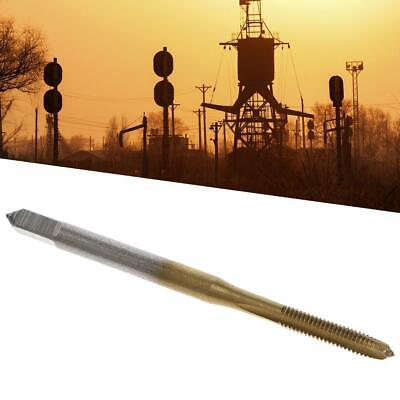 M2//M2.5//M3//M3.5//M4//M5//M6 HSS Metric Straight Flute T Screw Plug Tap Thread R9I4