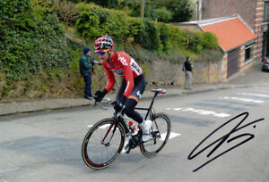 Tim Wellens - Autographed - Signed 8X12 inches Lotto-Soudal Cycling Team Photo