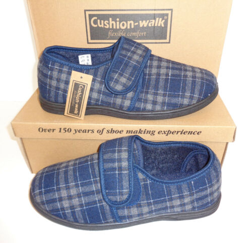 New Cushion Walk Mens Slippers Gift Warm Lined Winter UK Sizes 9 /& 11