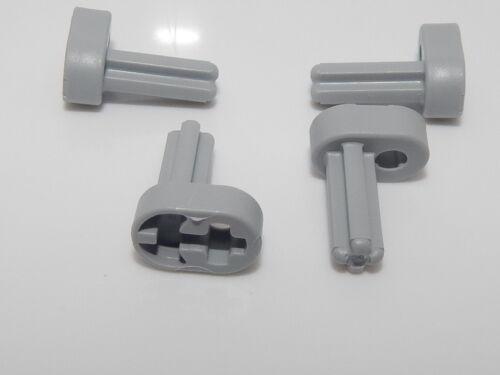 Lego Lot Of 4 Light Bluish Gray Technic Engine Crankshaft