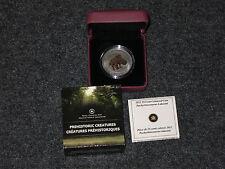 2012 Canada 25-Cent Dinosaur Glow in the dark Coin - Pachyrhinosaurus Lakustai