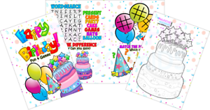 Pack-of-12-Happy-Birthday-Fun-and-Games-Activity-Sheets-Party-Bag-Fillers