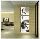 40x40CM *3PCS Modern Animals Hand-painted Frameless On Canvas Art Oil Painting