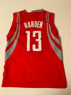 ADIDAS NBA Licensed Houston Rockets HARDEN jersey Youth S | eBay