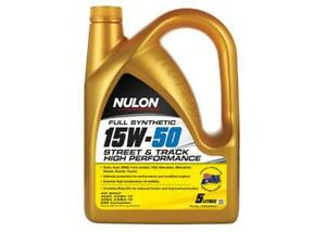 Nulon Street & Track Full Synthetic Car Engine Oil 15W-50 5 Litre