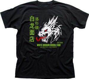 White Dragon Noodle Bar Blade Runner 2049 Tyrell Corp charcoal t-shirt OZ9215