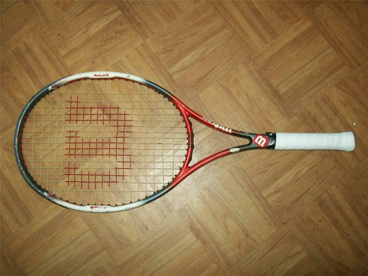 Wilson Junion Hammer 6.4 Midplus 95 head 4 small grip Tennis Racquet