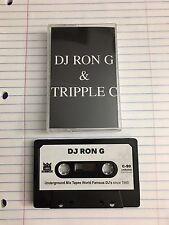 DJ Ron G DJ Tripple C Double Trouble Tape Kingz NYC Mixtape 90s Hip Hop Cassette