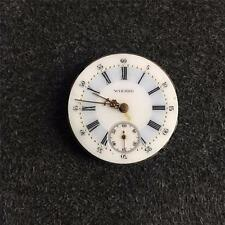 VINTAGE 29.56MM SWISS WIZARD HUNTING CASE POCKET WATCH MOVEMENT