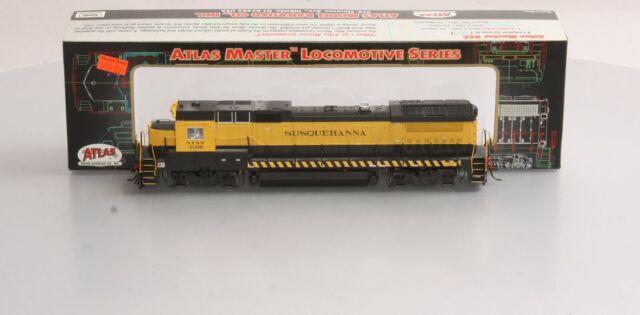 Atlas 9014 HO Scale Susquehanna Dash 8-40B Locomotive w/DCC NIB