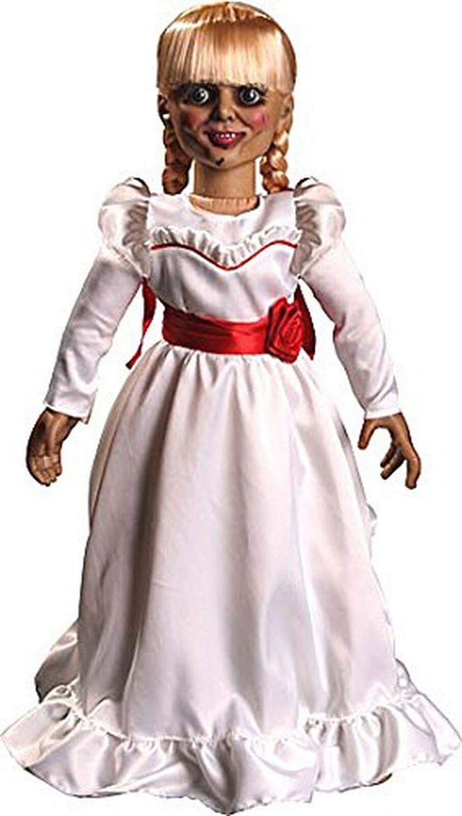 """MEZCO TOYZ il evocando Annabelle 18/"""" PROP REPLICA bambola esclusiva Regno Unito"""