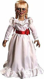 "Mezco Toyz The Conjuring Annabelle Creation Doll 18/"" Scaled Prop Replica In Hand"