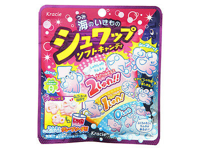 kracie Shuwap soft candy grape Japanese candy new