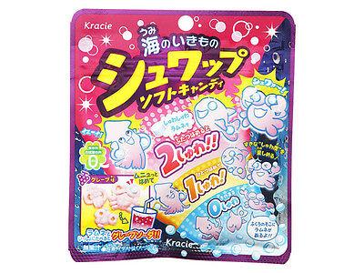 kracie Shuwap soft candy grape Japanese candy new