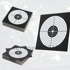 100 x Archery Target Paper Face for Arrow Bow Shooting Hunting Practice
