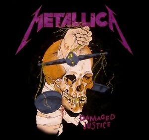 METALLICA-cd-lgo-HARVESTER-OF-SORROW-Official-SHIRT-MED-New-and-justice-for-all