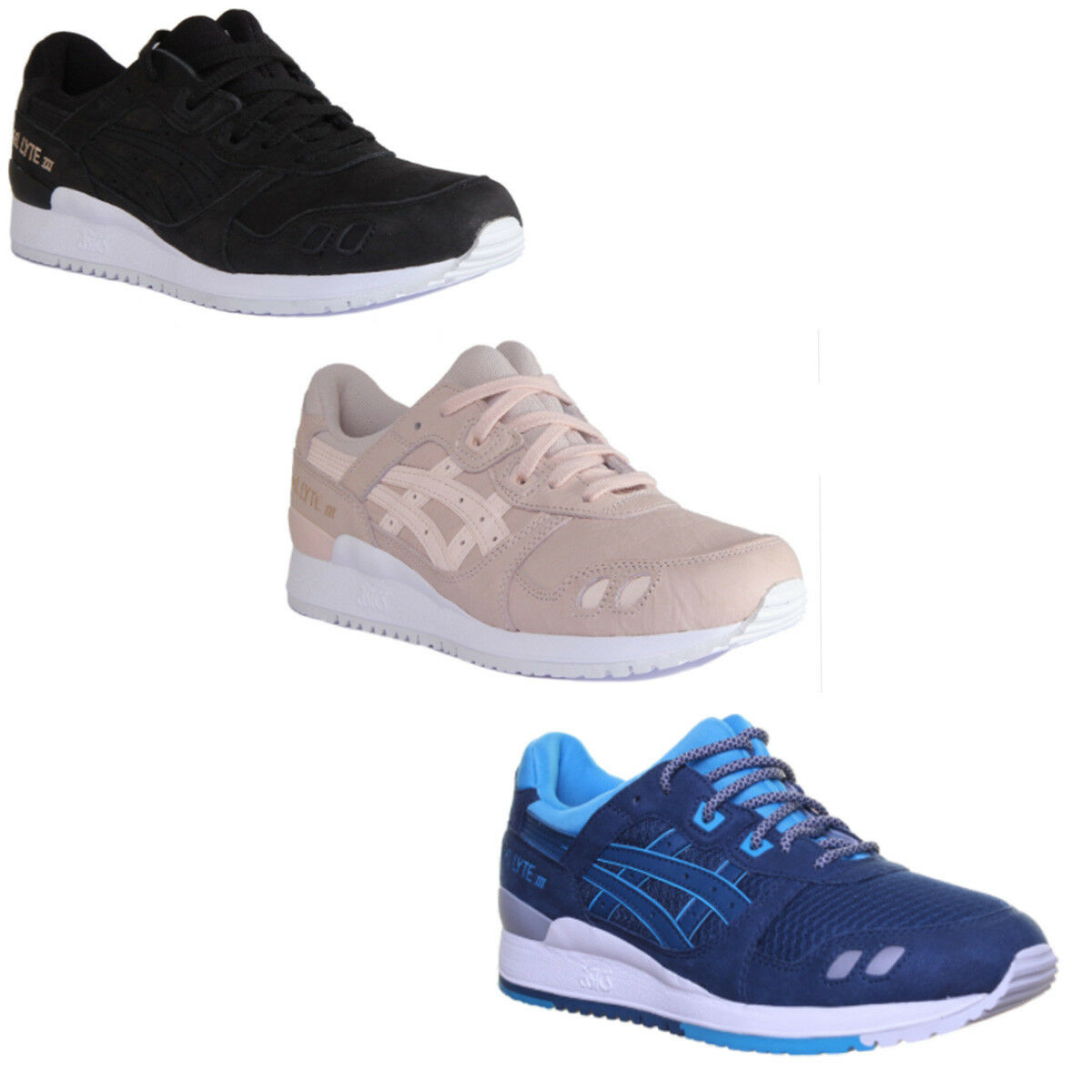 Asics Gel-Lyte Iii Unisex Suede Leather Trainers