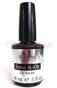Image Is Loading Ezflow Trugel Nail Polish Bond It On Gel