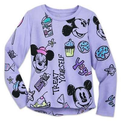 Disney Store Moana Tee Shirt Long Sleeve 5//6,7//8,9//10 Girls NEW