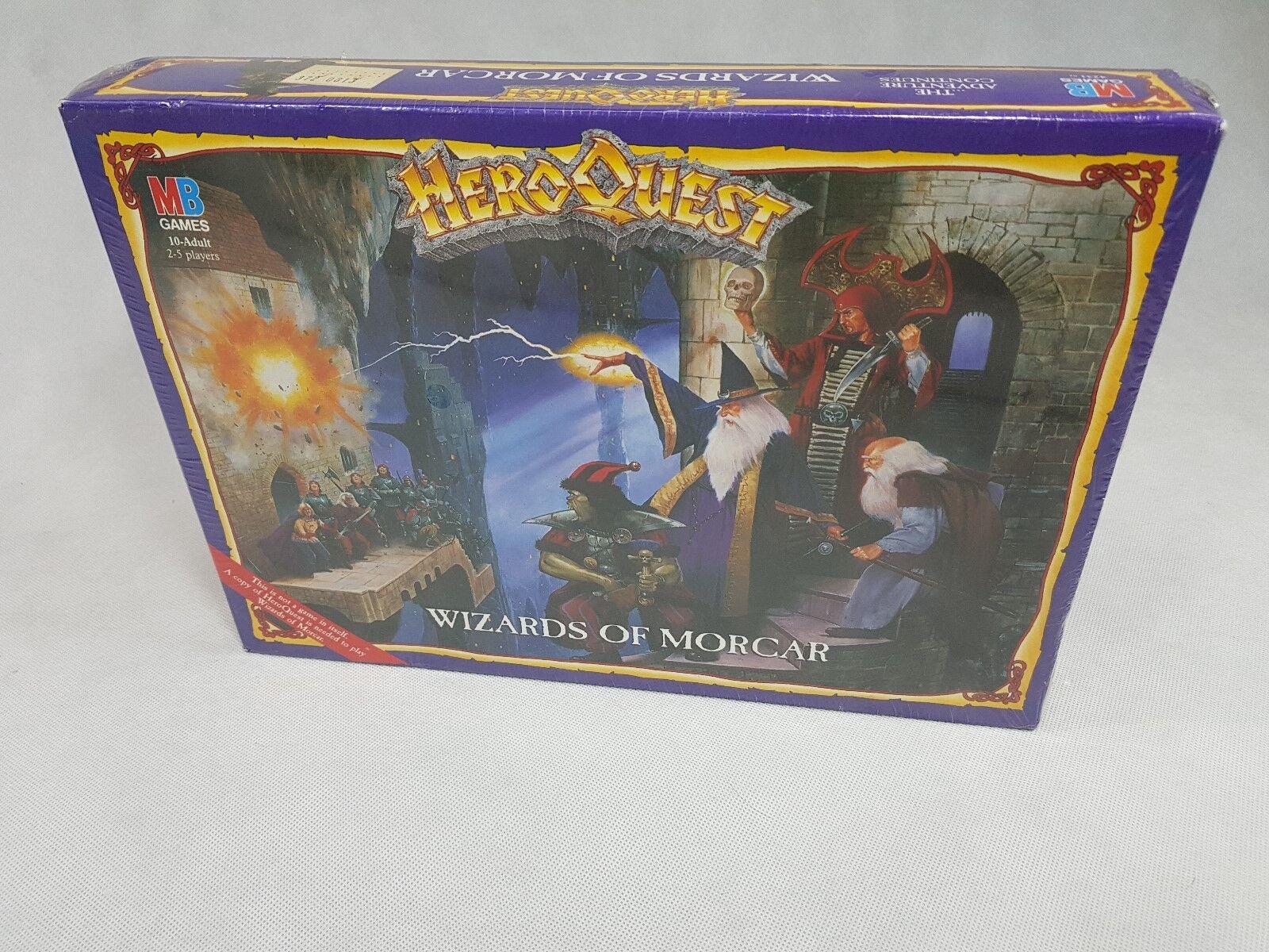 Expansión HEROQUEST asistentes de Morcaro-totalmente Nuevo Nuevo Y En Caja, Hero Quest [1992], ENG