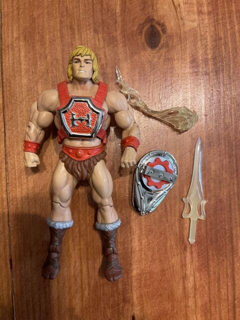 MOTUC MOTU THUNDER PUNCH HE-MAN Masters Of The Universe Classics Complete
