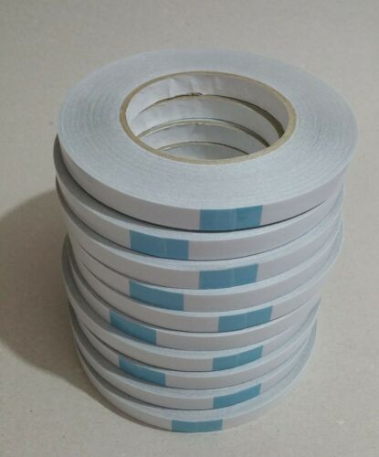 Double Sided Banner Tape 50m Strong Clear Hem Hemming Sign High Tack Reinforced