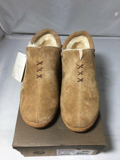255094df8 Lam Russian Slip On Suede Moccasin Classic Collection P901W Chestnut Size 8