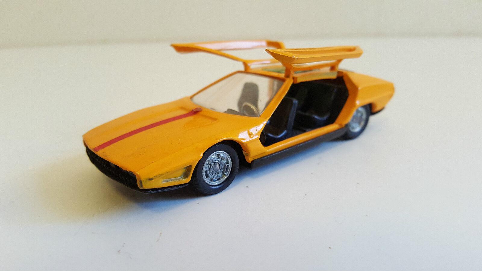 Politoys Export - 568 - Lamborghini Marzal Bertone yellow