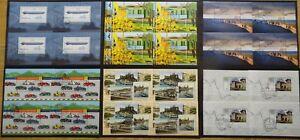 BRD-Bund-Block-69-72-74-75-77-78-postfrisch-oder-gestempelt-ESST-Bonn-Berlin-Wei