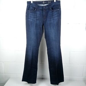 7-For-All-Mankind-Mid-Rise-Bootcut-Jeans-Women-Size-32-Stretch