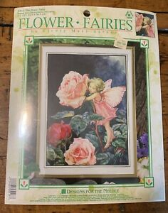 Rose Fairy Counted Cross Stitch Kit Fairies//Fantasy