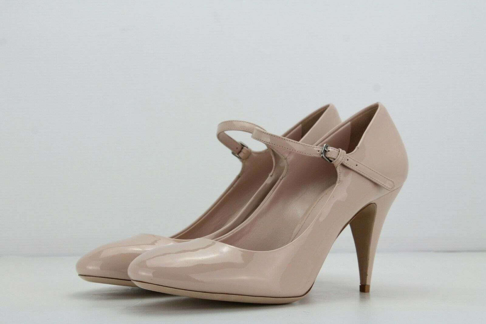 Miu Miu Nude Patent Leather Court shoes, Size  UK8.5 EU41.5