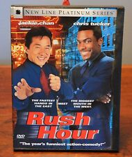 Rush Hour DVD Widescreen Jackie Chan Chris Tucker