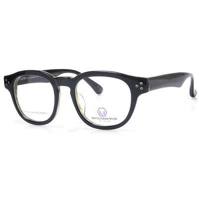 Matsugawa mune mm022 c11 Made in Italy Acetate Material Eyeglass Optical frames