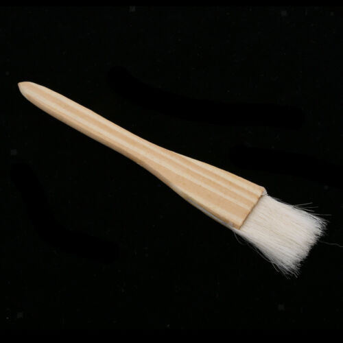Baking Tool Wooden Handle Wool Brush Barbeque Oil Brush Pastry Brush S