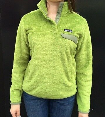 NWT Patagonia Womens Re-Tool Snap-T Pullover Slim Fit Supply Green XS//M//L