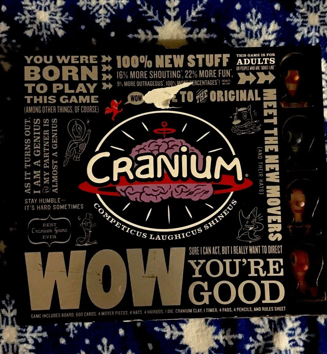 Cranium Board Game - Wow Your Good Edition - 2007 Fun Learning Game a