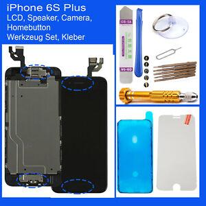 Ecran-Retina-Pour-IPHONE-6S-Plus-LCD-Complet-Preassemble-Avant-Noir