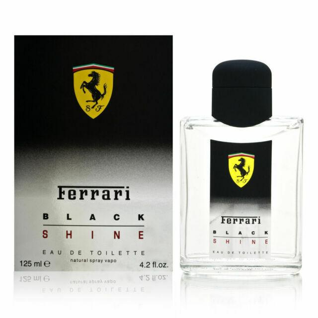 Ferrari Black Shine Men S Cologne 4 2 Oz 125 Ml Edt Spray For Sale Online Ebay