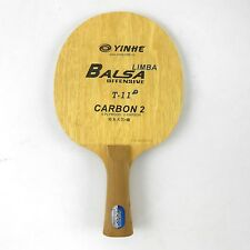Used Galaxy Yinhe T-11 + OFF Table Tennis Ping Pong Blade Long(shakehand)-FL