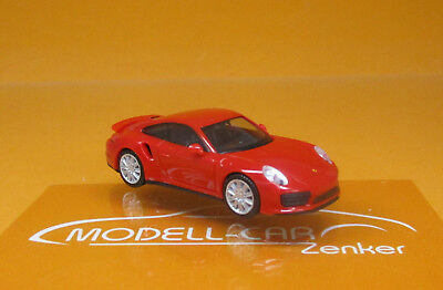 indischrot 1:87 028615-002 Herpa Porsche 911 Turbo