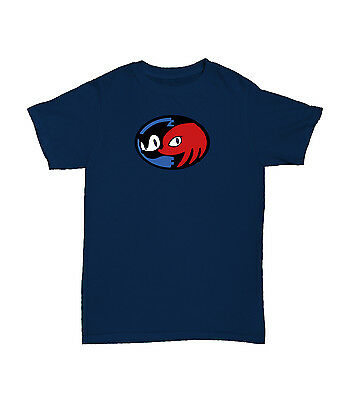 Sonic And Knuckles Sonic Game Retro Navy T-Shirt S-XXL Gamer Geek Tshirt