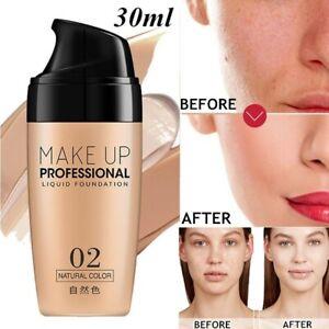 Professional-Liquid-Foundation-Face-Base-Concealer-Matte-Lasting-Primer-Makeup